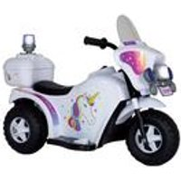 Ride-On Electric Unicorn Bike