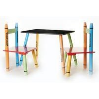Crayon Table and Chairs