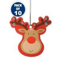 10 Rudolf Tags