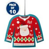 10 Christmas Jumper Tags