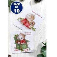 10 Christmas Teddy Cards