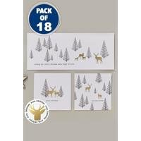 18 Christmas Wishes Trio Cards