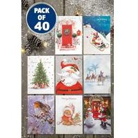 Bumper Pack Of 40 Cards