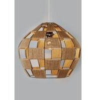 Large Woven Pendant Light Shade