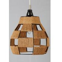 Small Woven Pendant Light Shade