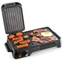 2-in-1 Black Food Grill