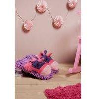 Fuzzy Friend Slippers Unicorn