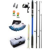 Fladen Beach Fishing Rod Reel And Tackle Set