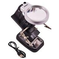 Helping Hand 10x Magnifier LED Light