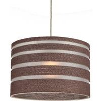 Perugia Rope and PVC Easy Fit Pendant