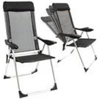 5 Position Aluminium Reclining Chair