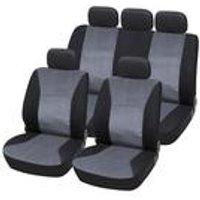 Jacquard Material Seat Cover Set 3 Zip Rear