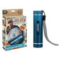 Discovery Flintoff Goes Wild DVD + COB Torch
