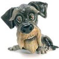 Little Paws Zak Schnauzer Figurine