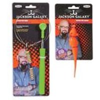 Jackson Galaxy Ground Wand With Toy And Mouse Lure