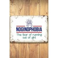 Noginophobia Sign Small