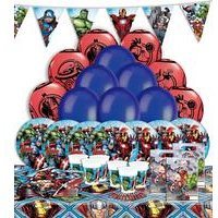 Mighty Avengers Party Kit For 16