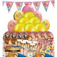 Disney Beauty And The Beast Party Kit For 16