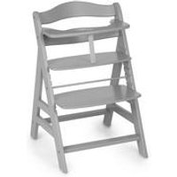 Hauck Alpha Wooden Highchair White