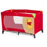 Disney Dream n Play Travel Cot - Pooh Spring Brights Red
