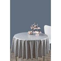 Round Geometric Table Cover