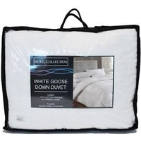 Hotel Collection Goose Feather and Down 15.0 Tog Duvet