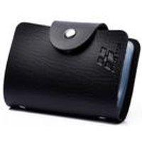 Woodland Leathers Black 24 Card Holder