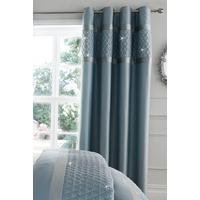 Catherine Lansfield Sequin Cluster Curtains