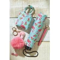 Flamingo Umbrella Set