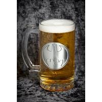 Batman Logo Stein Glass