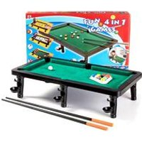 4-In-1 Table Top Games