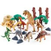National Geographic 18-Piece Dinosaur Play Set
