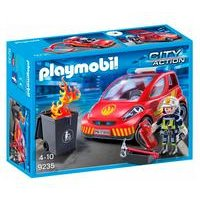 Playmobil City Action Policeman with Car