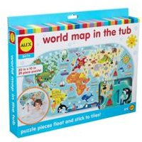 World Map in the Tub Toy