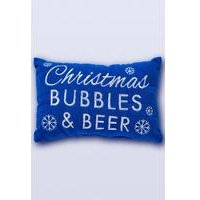 Christmas Bubbles and Beer Bath Pillow