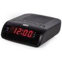 Akai Dual Alarm Clock Radio