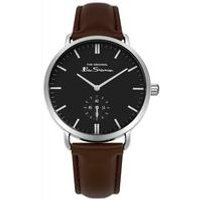 Ben Sherman Round Face and Brown Strap Watch