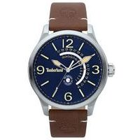 Timberland Hollace Brown Leather Strap Watch