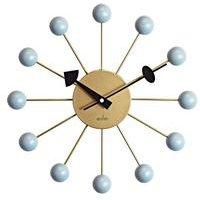 Meta 33cm Haze Spoke Wall Clock