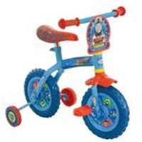 Thomas and Friends Kids 2-in-1 10 Inch Training Bike