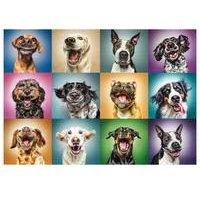 Funny Dogs 1000-Piece Jigsaw