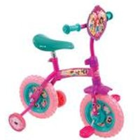 Disney Princess 2-in-1 10 Inch Training Bike