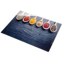 Spices Glass Chopping Board