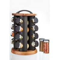 16-Piece Filled Spice Rack Set