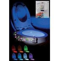 Glow Toilet Bowl with Air Freshener