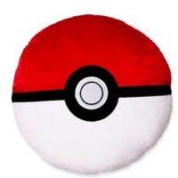 Pokemon Catch Shaped Cushion