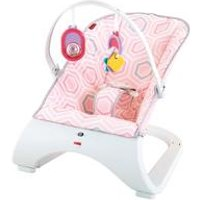 Fisher Price Pink Curve Bouncer