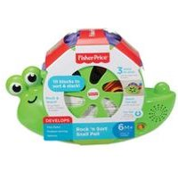 Fisher Price Snail Pail Shape Sorter