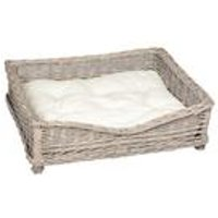 Banbury and Co Square Willow Pet Basket