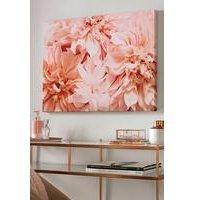 Blushing Blooms Canvas